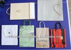 Recycle custom various handmade paper gift bag