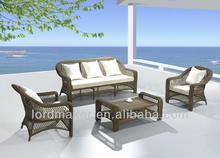 Wicker outdoor sofa, garden plastic sofa J057#