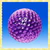 New Designed Purple Crystal Golf Balls For Sports Gifts