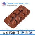 100% alimentos- grau de dedo de silicone moldes