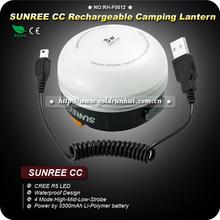Goldrunhui RH-F0512 Sunree CC Rechargeable Camping Lantern Waterproof