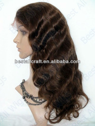 stock 20 inch long glue full lace wigs china