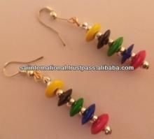 Pure White Sea Shell Earrings For Children