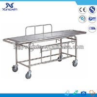 Stainless Steel Patient trolley/medical equipment/transport stretcher