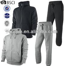 Mens Full Tracksuit Fleece Hooded Jogging Bottms Joggers - S M L XL - New
