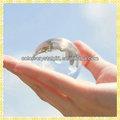 nueva llegada de borrar pequeñas bolas de vidrio para souvenirs casado