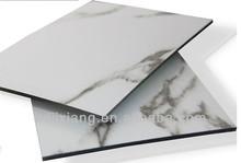 High quality popular 4mm building construction materials aluminium composite panel