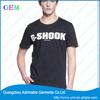 custom design t shirt factory/OEM cotton jersey t shirt