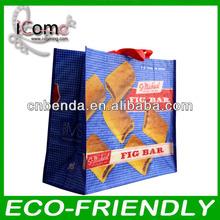High quality pp woven shopping bag/bopp laminated pp woven bag