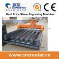3d cnc pedra máquina escultura máquina de corte a laser para pedras máquina de escultura