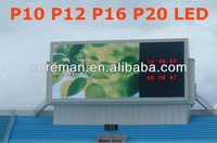 Advertising led digital screen outdoor rgb led display p16