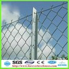 galvanized diamond woven wire mesh chain link fence (Anping factory, China)