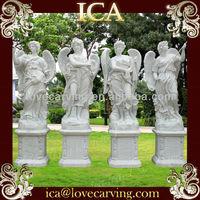 Four seasons stone statue