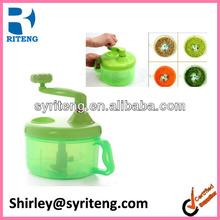 vegetable hand shredder plastic manual food chopper