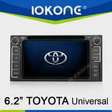 Car DVD player GPS navigation system for Toyota universal HiLux / Innova 06-11 / Fortuner / Altis / Fj 200 / CROWN / RAV