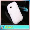 Rabbit Hair Stuffed Animal Case For iPhone 5 Case Unique Design