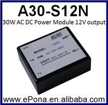 30W AC DC Power Module 12V output A30-S12N
