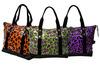 All Over Printing Zipper Closure PVC Tote Bag Travel Time Bag