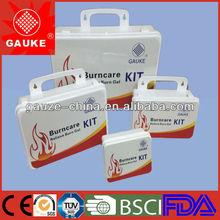 Professional free size burns care kit,emergency burn care box