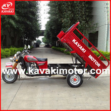 New year hot sale 3 wheel truck loading heavy cargo tricycle/ gas motor tricycle in China factory
