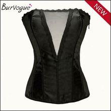 Sexy pretty woman plus size bustier corset burlesque sexy corset garter