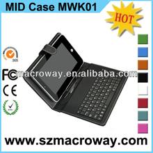 "Mini USB Keyboard Tablet Case 7"" 8"" 9.7"" 10.1"""