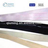 colorful fashion silicone garment elastic tape