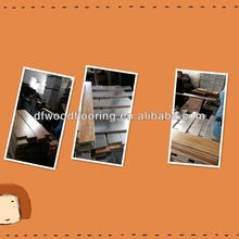 Waterproof Chinese Ruber Hardwood & Solid Wood Flooring for Sport Playground