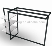 For retail store stainless steel display for clothes