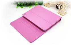Heat ! pink leather case bluetooth keyboard for ipad 2