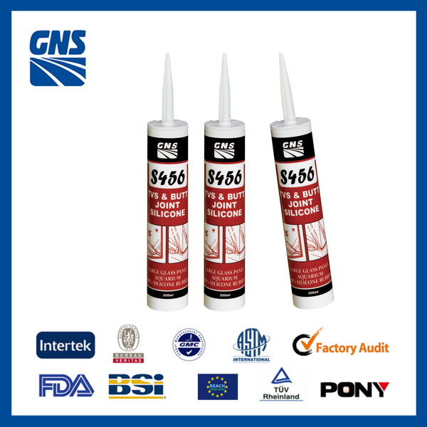 Special Colours Glass Flexible Silicone sealant