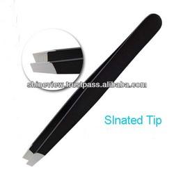 Hair remover tweezers / Eyebrow Plucking Tweezers Slanted Tip