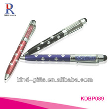 Hot Sale Bling Rhinestone Custom Made Pens With Crystal China Factory