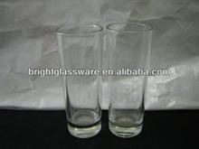 Long shot glass, drinking glass, cylinder glass