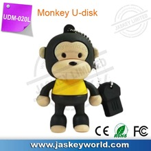 Cartoon Monkey 4GB 8GB 16GB 32GB 64GB USB Flash Memory Stick Drive Thum/Car/Pen U Disk