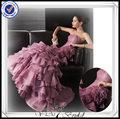 pp0222 boncuklu pinl fırfır organze yılbaşı parti elbise 2013