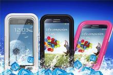 Life waterproof proof Dustproof Diving Swim case for Samsung Galaxy Note 3 N9000 Note 2 Note 1 + Retail Box