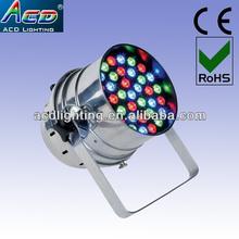 high power 36*3w stage lighting supplier,led par light, led stage lights