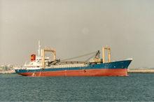 1,989 cbm sand carrier ship for sale