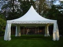 6x6 pagoda tent assemble aluminum structure