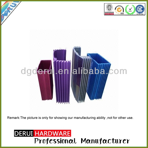 OEM customized radiator high quality aluminium profile