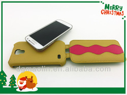 Cheap price and high quality wallet leather flip case for samsung s4 mini i9190/i9192/i9195/i9198