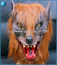 halloween scary wolf carnival mask for party