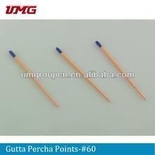 dental gutta percha points,dental material,dental supply