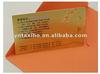 golden business transparent plastic cards