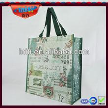 Promotional eco nonwoven laminated bag Laminated reusable shopping bag Custom new design lamination pp nonwoven bag