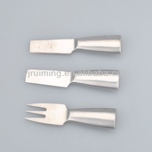 3 Pieces Stainless Steel Disposable cheese knife set