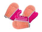 Microfiber cleaning glove/mitt