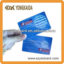 """Durable """"RFID 125KHz Hitag1/Hitag2/HitagS PVC / PET ISO Card with free samples"""