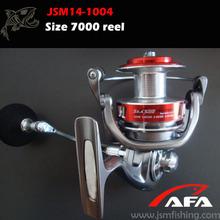 Size 7000 Red Spinning Fishing Reel Appearance Like daiwa fishing reel